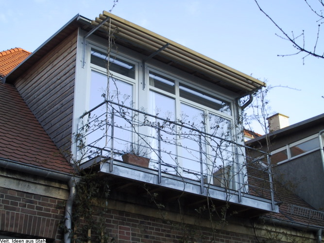 schlosserei veit stahl metallbau balkone. Black Bedroom Furniture Sets. Home Design Ideas